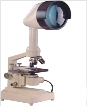 VN-81 PROJECTION MICROSCOPE (WITH 2 OBJ.)