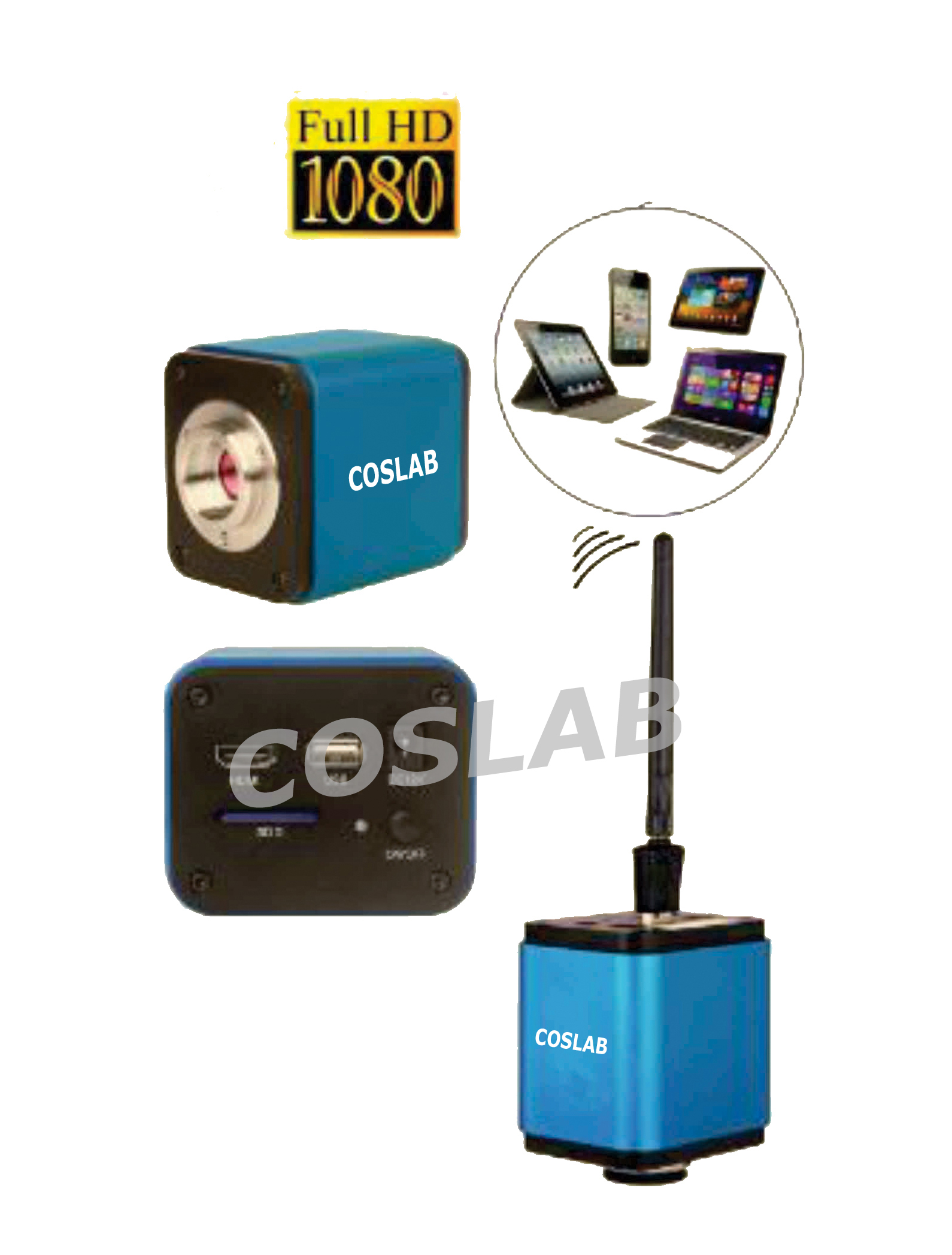 COSHD5000 1080Px FULL HDMI WIFI 5 MP CAMERA And SOFTWARE